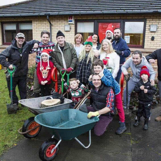 Wishaw community garden
