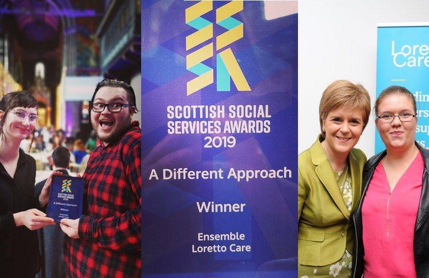 Ensemble winner meets First Minister Nicola Sturgeon