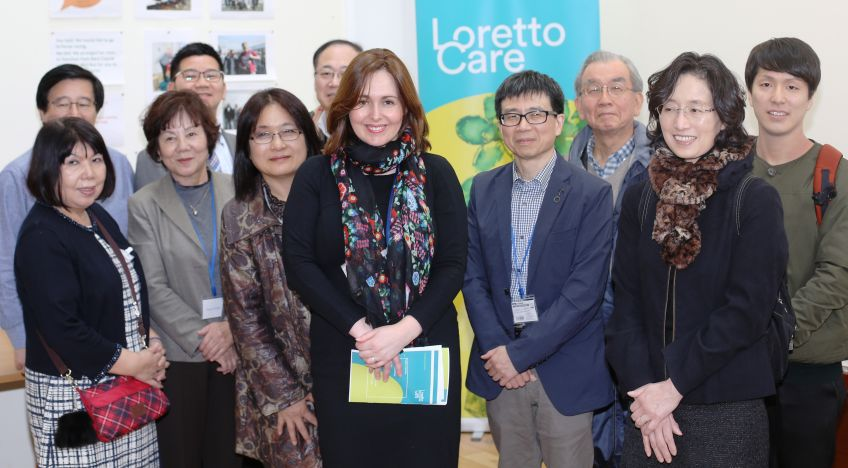 Japanese academics visit Fullarton Service